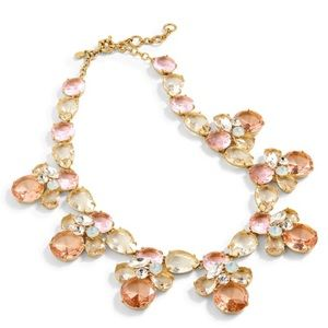Jcrew crystal bee necklace